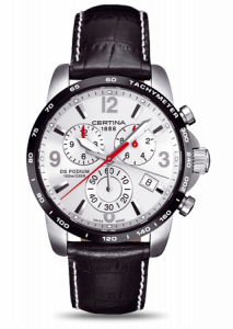 Certina DS Podium Big Size Chrono Silver