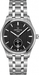 Certina DS-4 Small Second Black