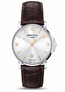 Certina DS Caimano Silver / Gold Index