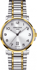 Certina DS Caimano Two Tone Arabic